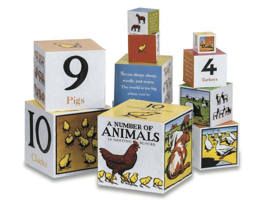 A Number of Animals Nesting Blocks By Green, Kate/ Wormell, Christopher (ILT)